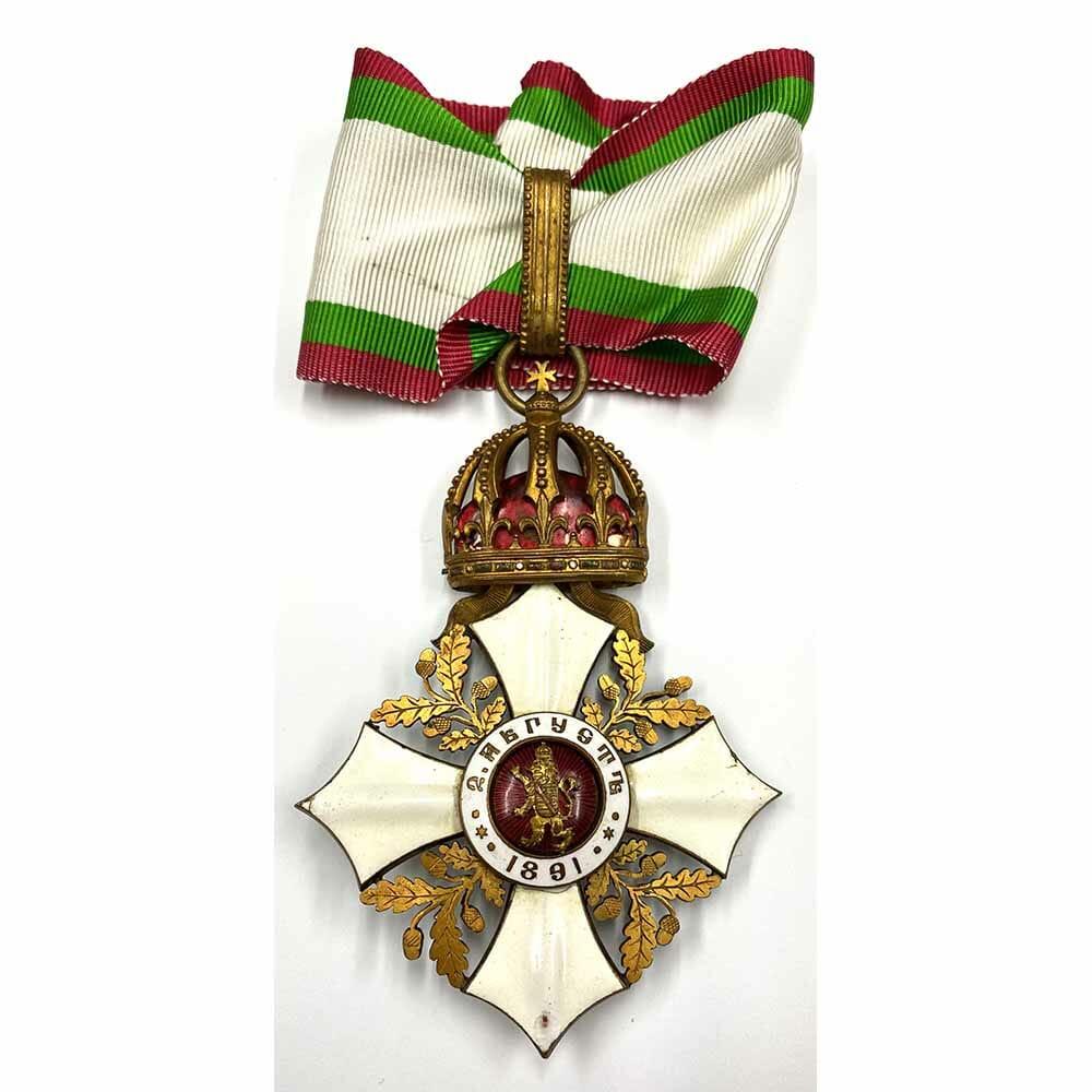 Order of Civil Merit Commander 1st Type 2