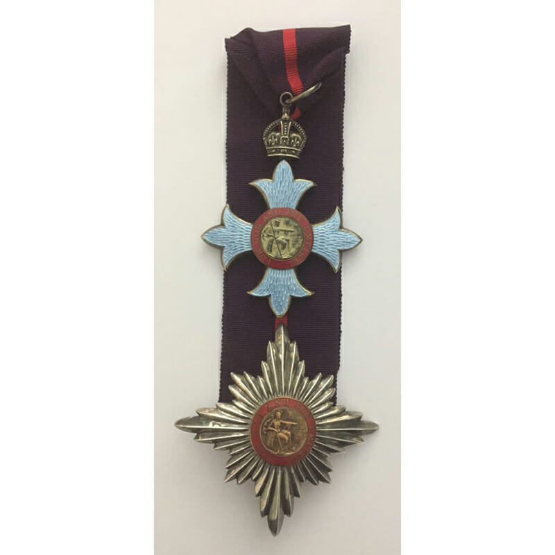Knight Commander of the Order of the British Empire 1