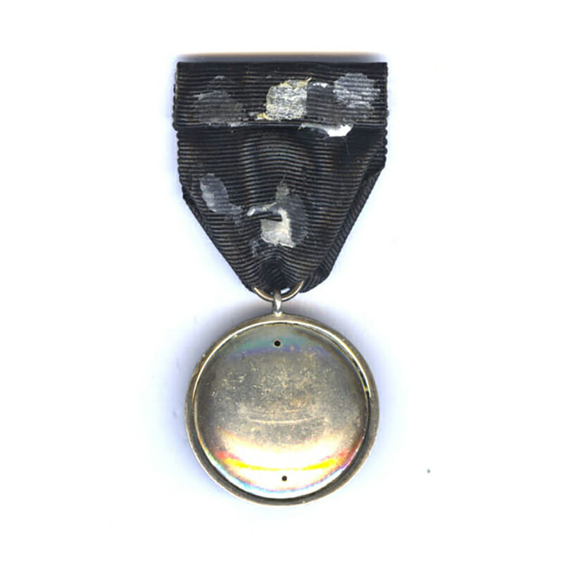 Order of St. John Officer Serving Brother silver and enamel 2