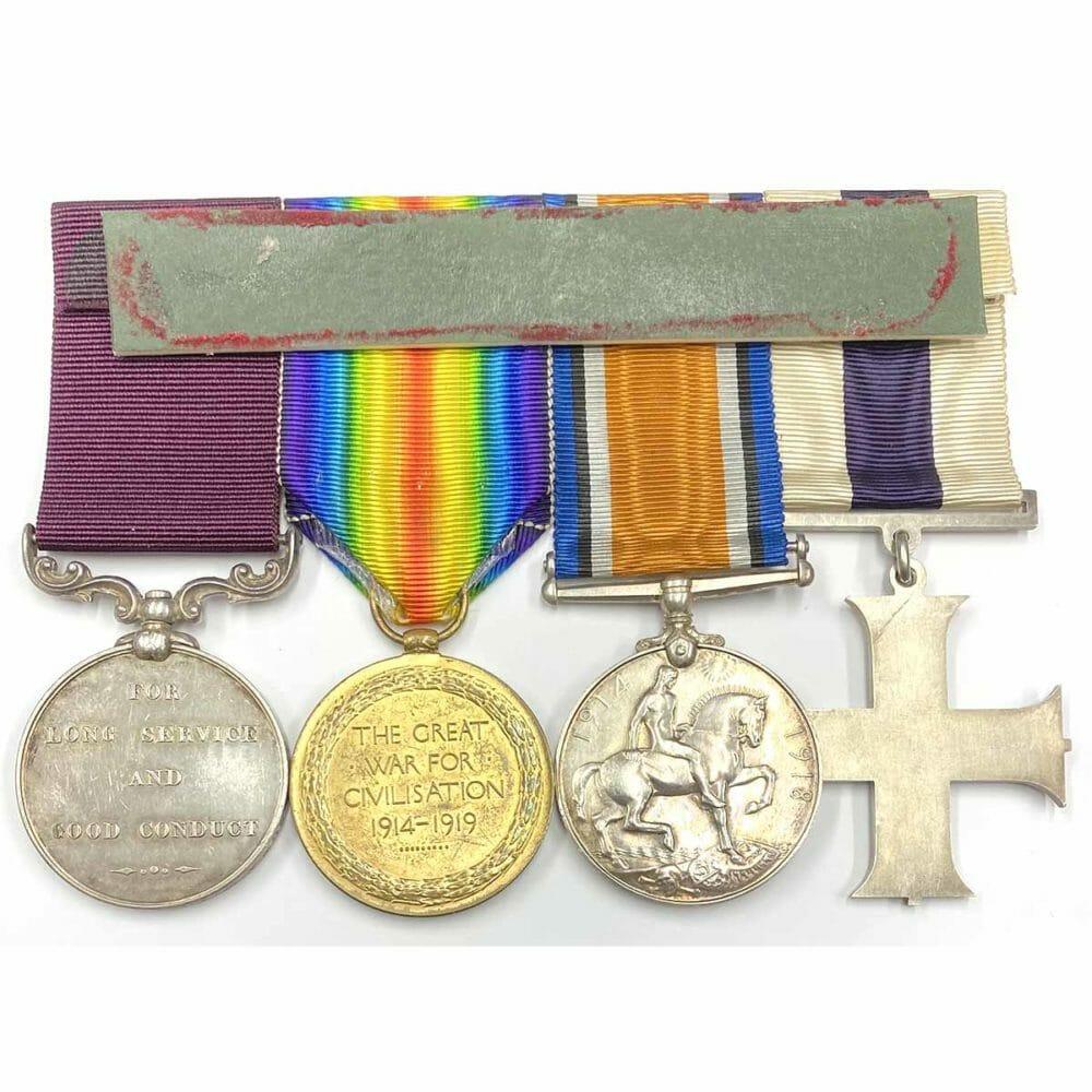 Military Cross, Pair, Vic LSGC 2