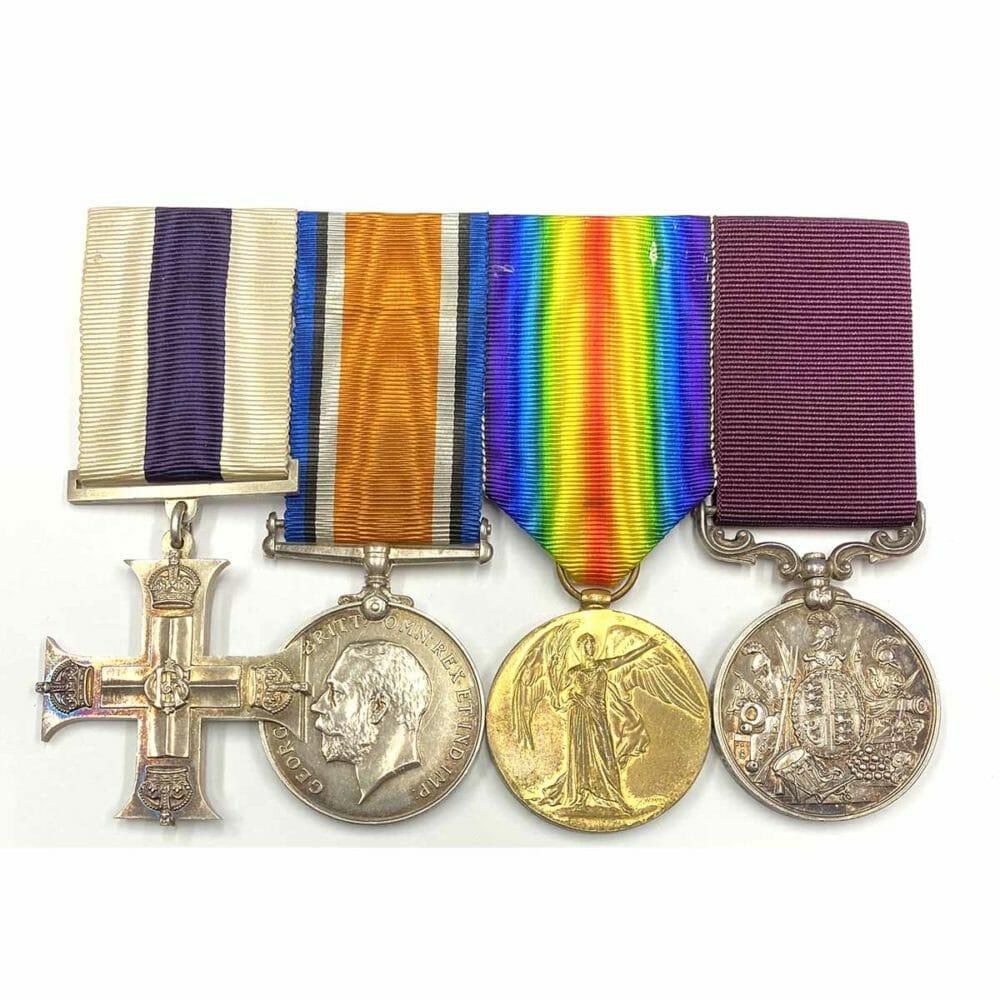 Military Cross, Pair, Vic LSGC 1