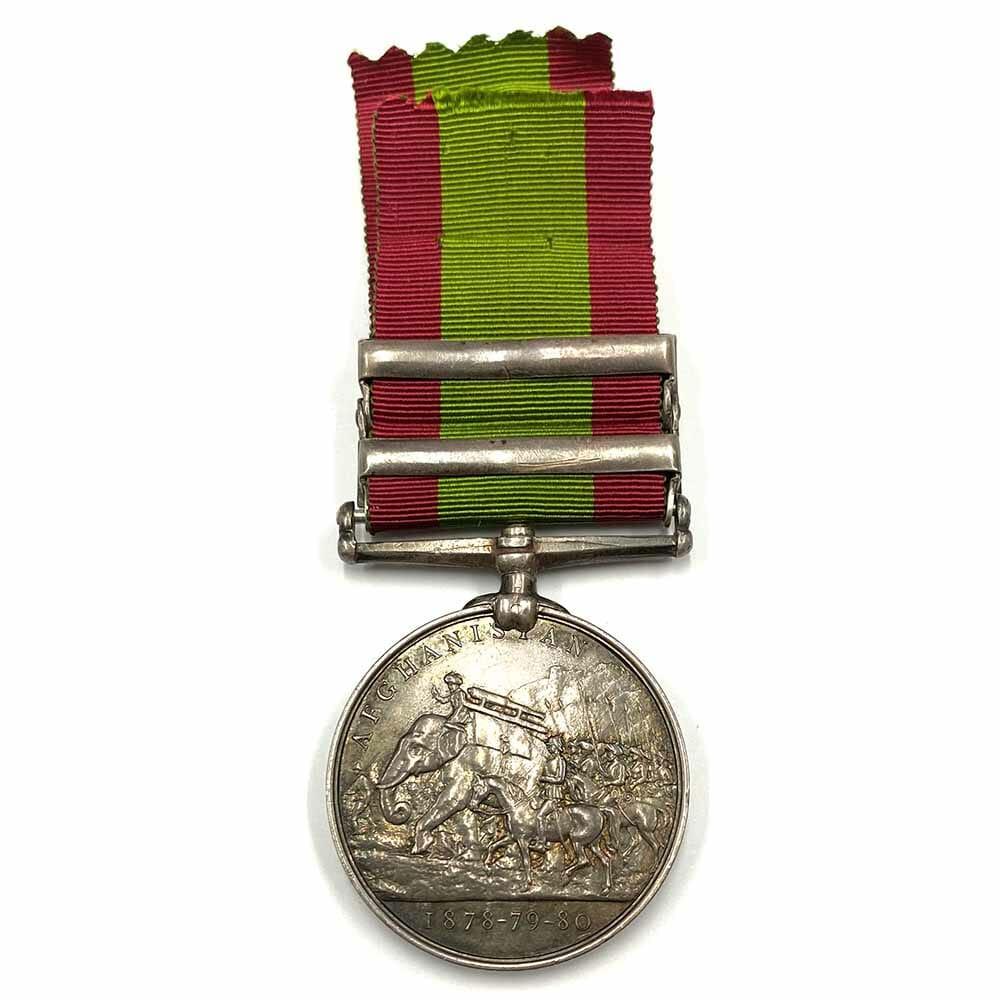 Afghan 2 Bars First Boer War 2
