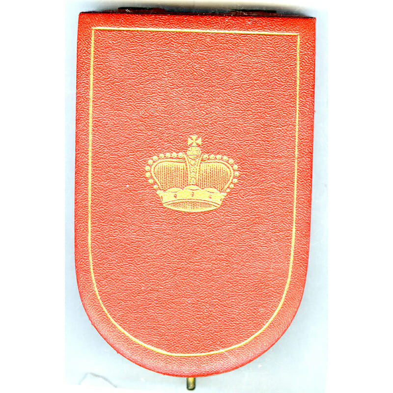 Order of Merit Knight  in fitted embossed case of issue by Anton... 3