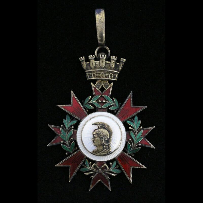 Order of  the Republic 1932 Commander neck badge 1