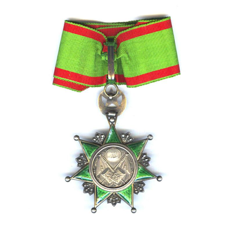 Order of Osmanieh Commander neck badge 2