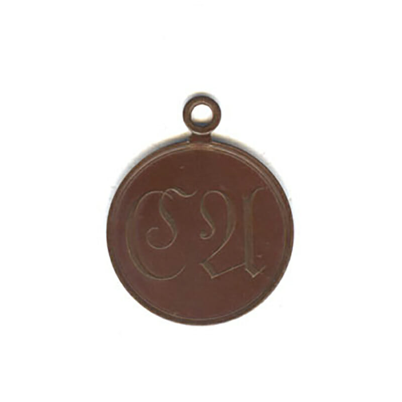 Waterloo medal 1815 bronze  no ribbon but superb condition(L27824)  N.E.F... 1