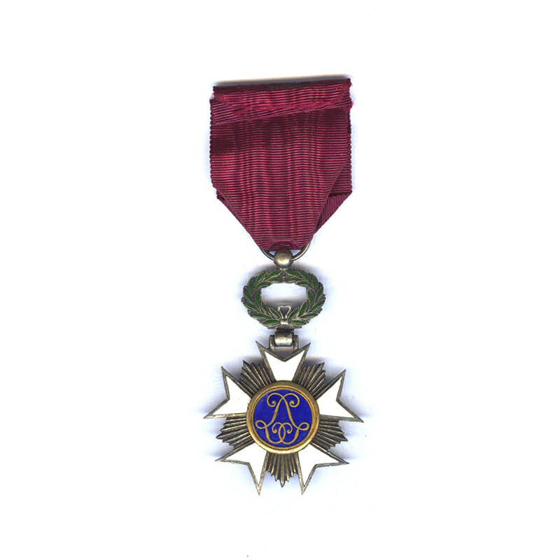 Order of the Crown  Knight silver gilt 2