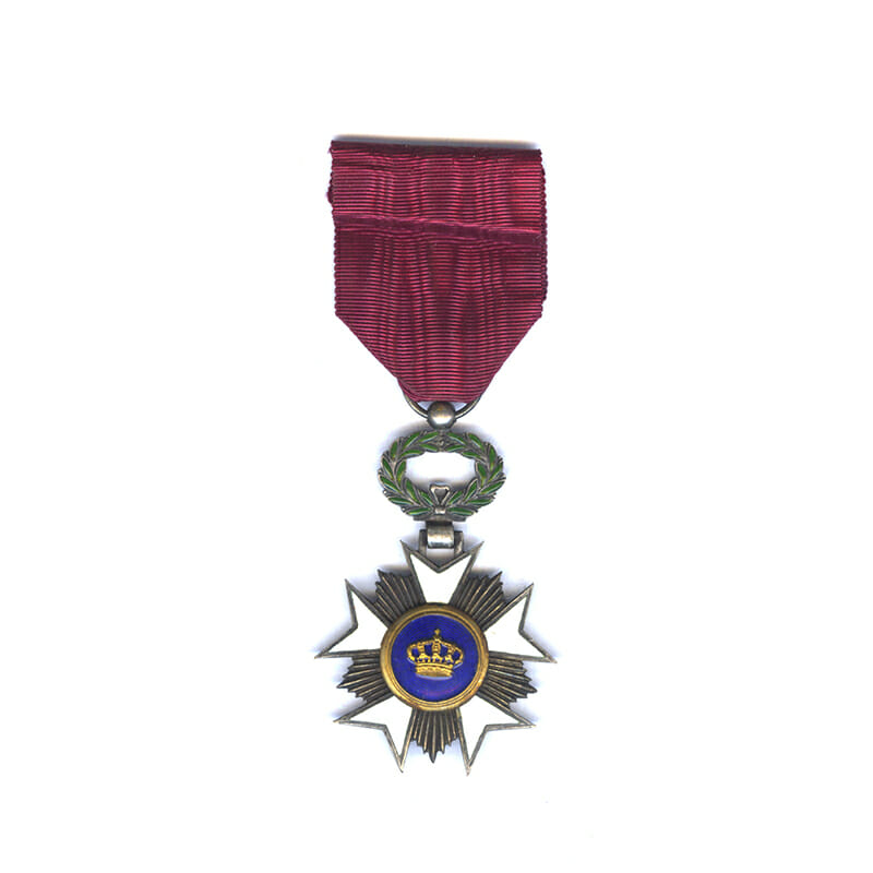 Order of the Crown  Knight silver gilt 1