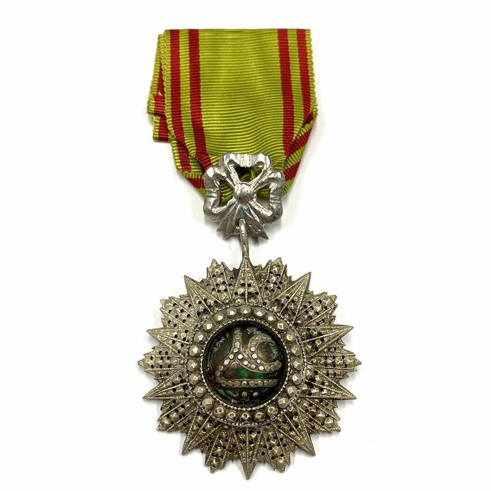 Order of Nichan Iftikhar Knight  Ali Bey 1882-1902 1