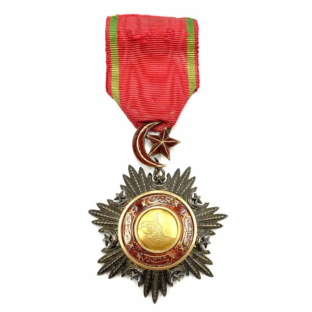 Order of the Medjidie 4th class badge  Crimea Period 1