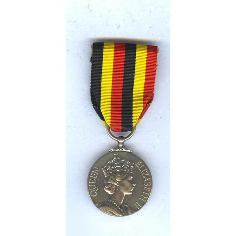 Uganda Independence Medal 1