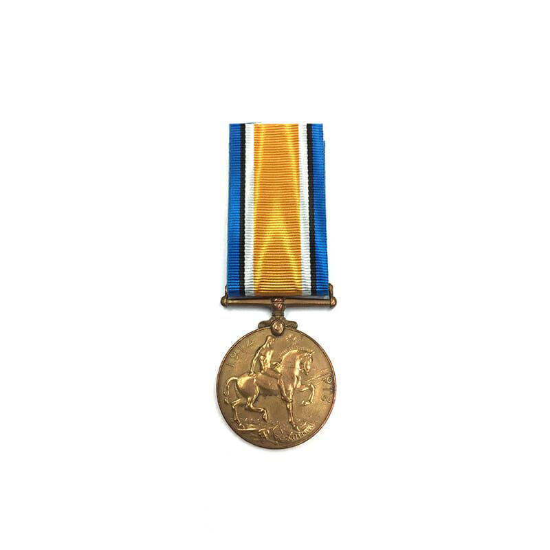 Bronze BWM Labour Corps India 2