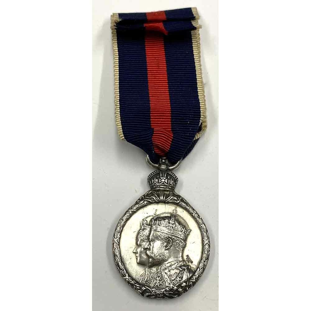 1902 Coronation Medal Silver 1
