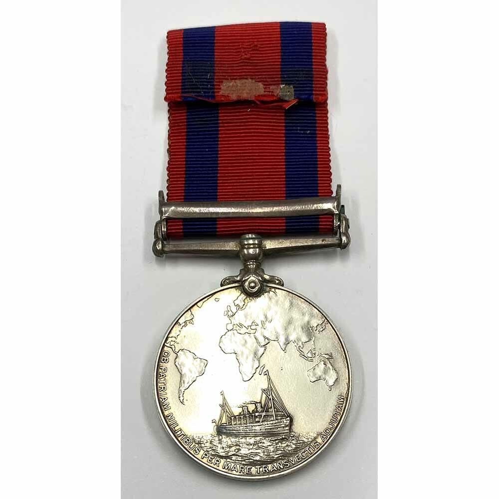 Transport Medal South Africa 1899-1902 2