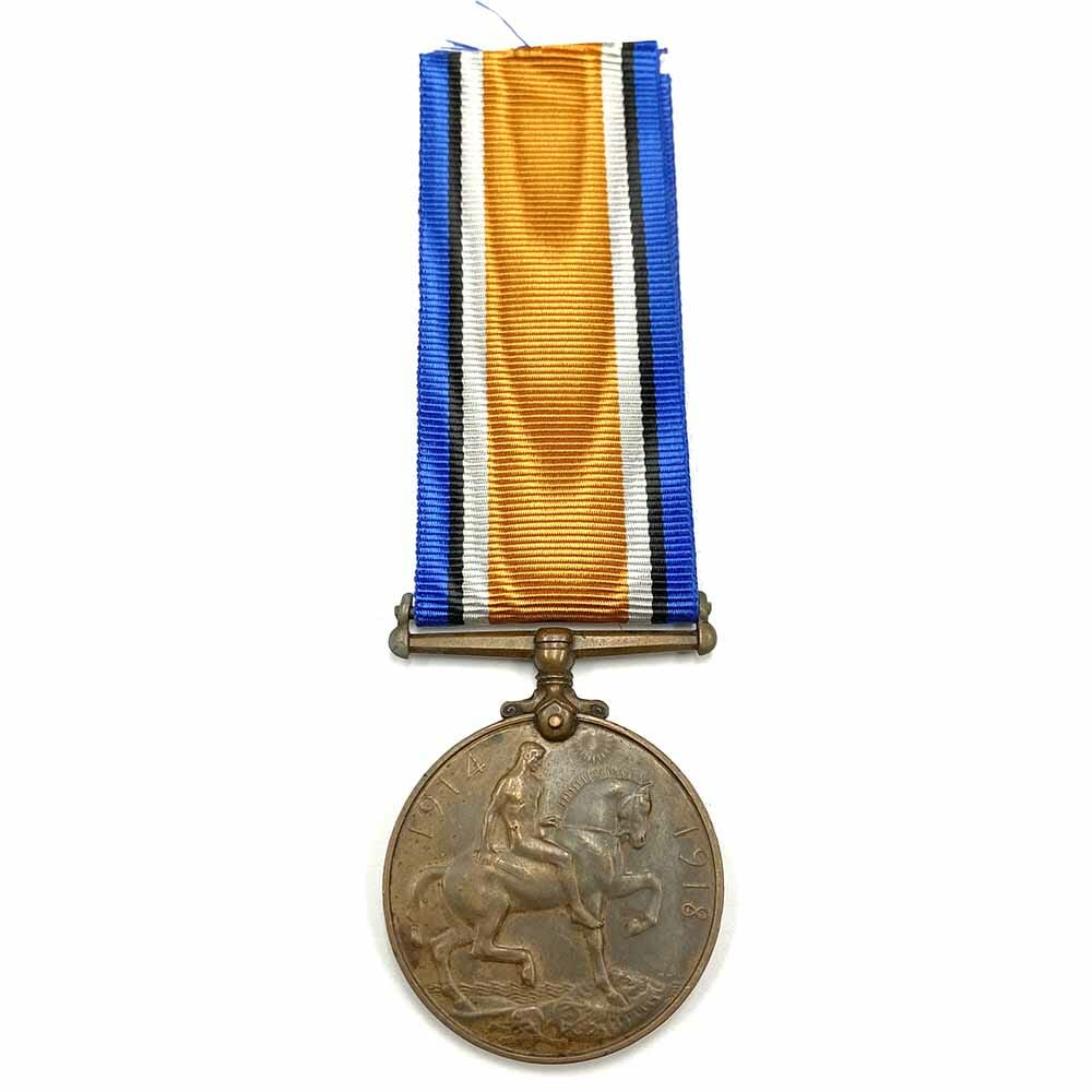 Bronze BWM South Africa Native Labour Corps 2