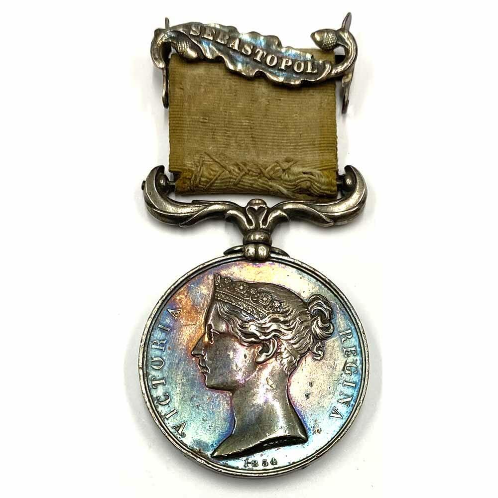 Crimea War Medal clasp Sebastopol 1