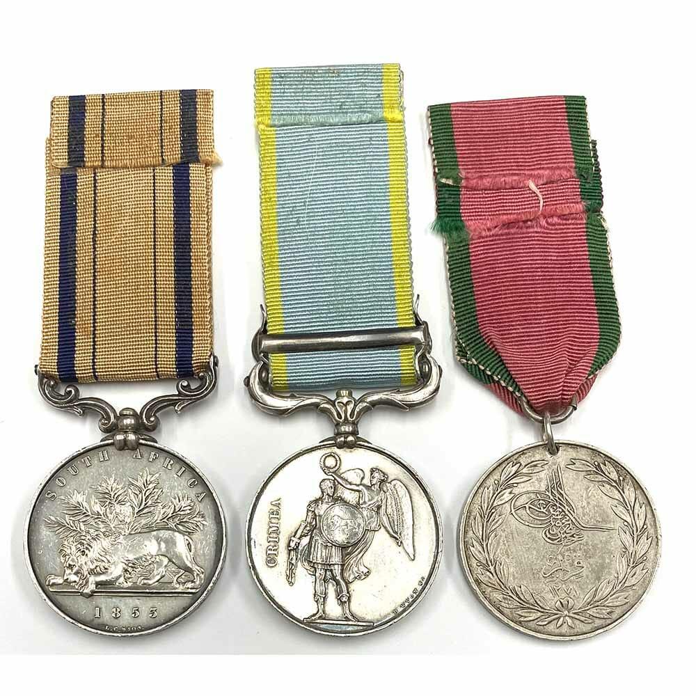 South Africa Crimea 12th Royal Lancers 2