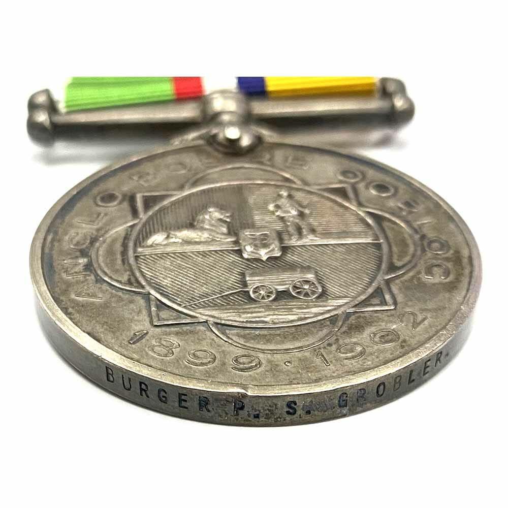 Anglo Boer Oorlog POW Middelburg Kdo 3