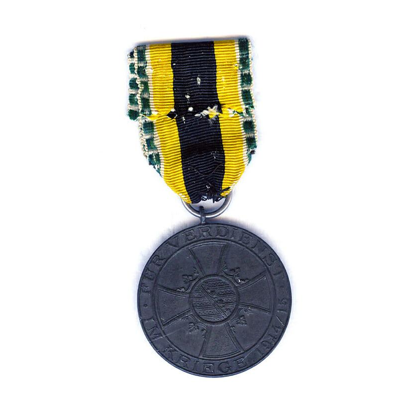 War Merit  Medal  1915-1918 zinc 2