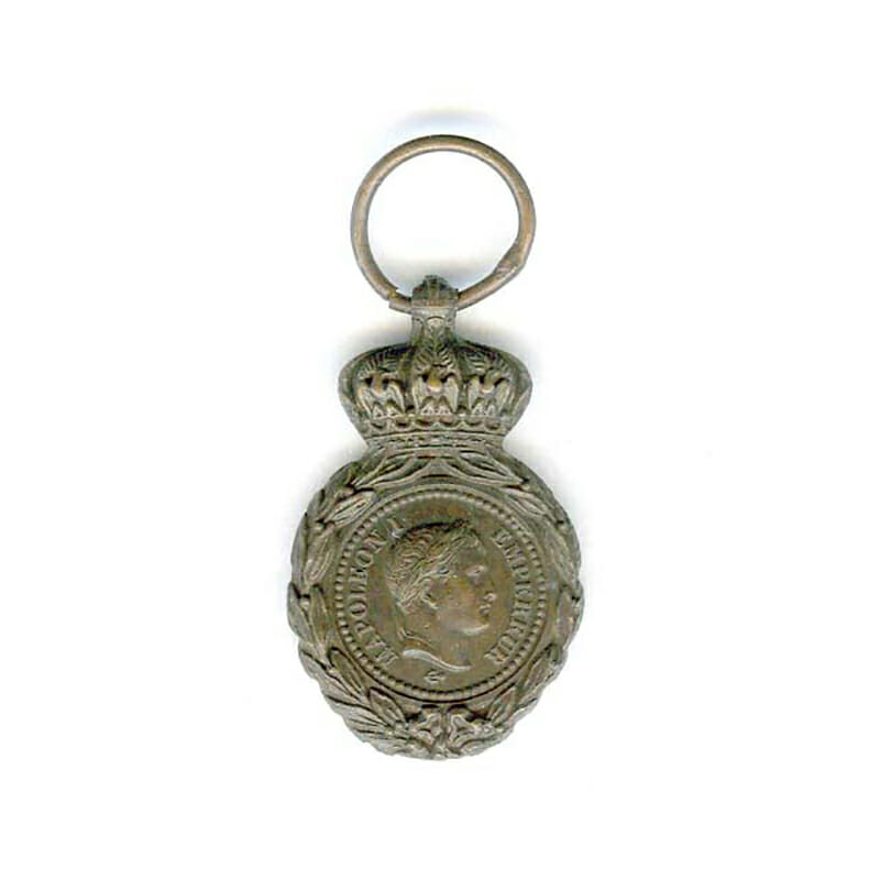 St.Helena Medal bronze large sized miniature 32mm x 18mm 1