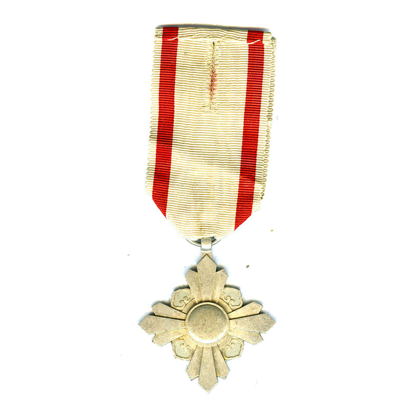 Order of the Auspicious Clouds 8th Class very scarce award (L24373)  V.F... 1