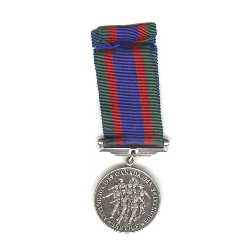 1939-45 Volunteers medal silver 2
