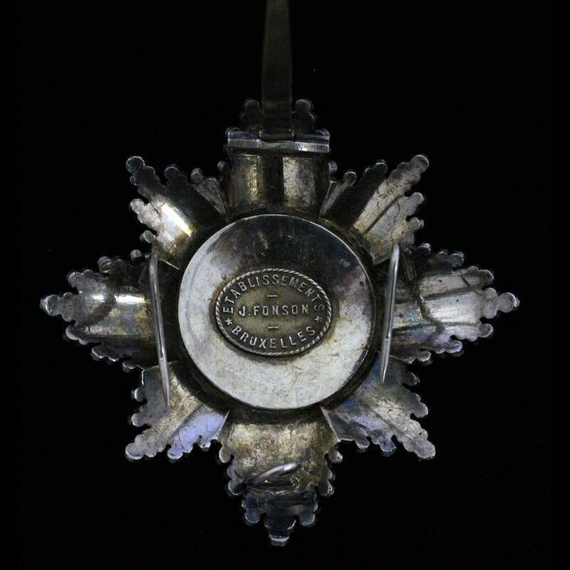 Order of Leopold Grand Cross Breast star 2