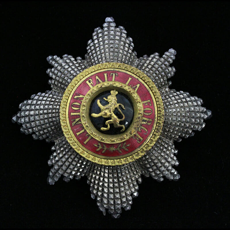 Order of Leopold Grand Cross Breast star 1