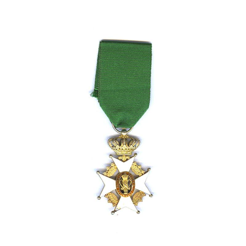 Order of Vasa Officer in silver gilt 1
