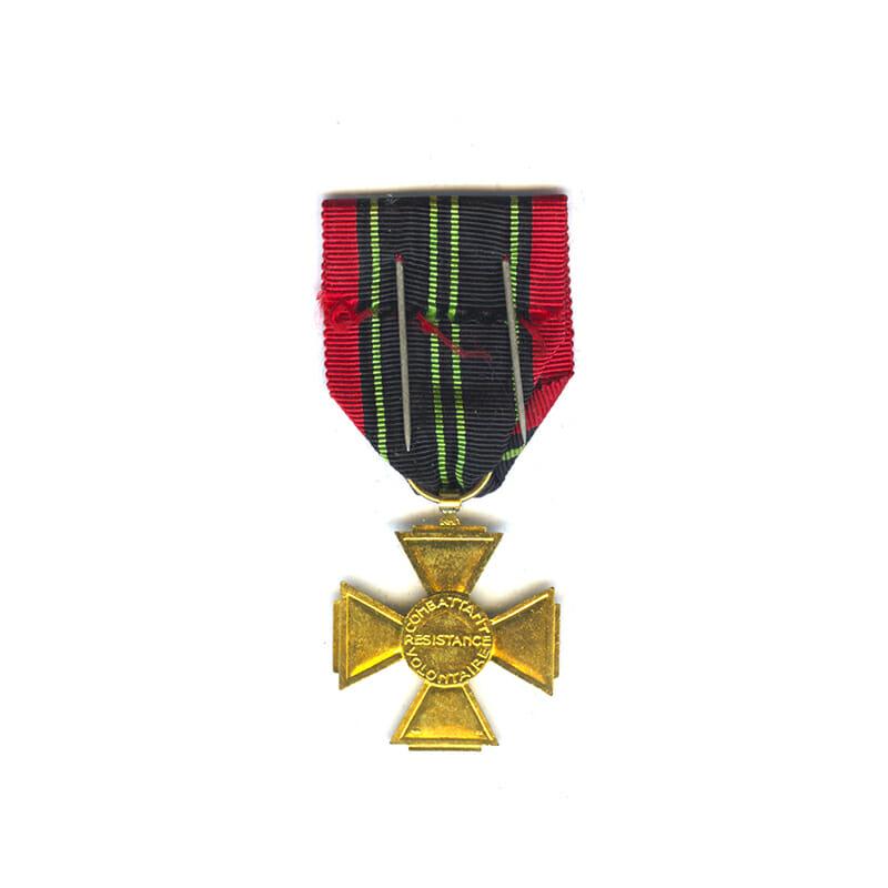 Combattants Cross for Resistance Volunteers 1944 2