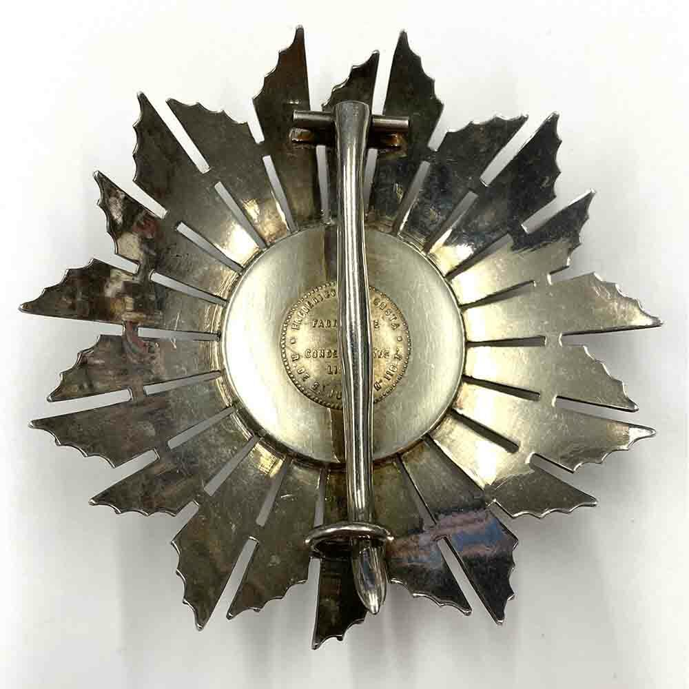 Order of the Red Cross Grand Cross breast star 2