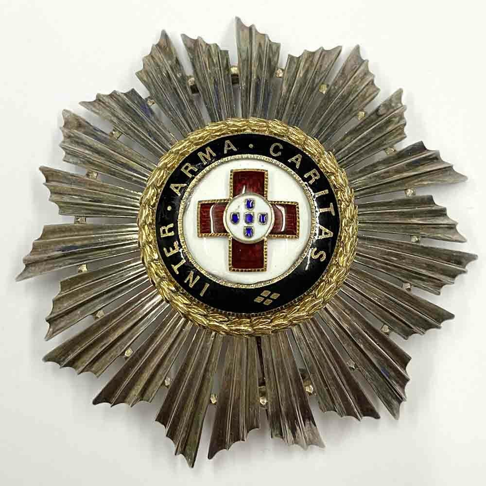 Order of the Red Cross Grand Cross breast star 1