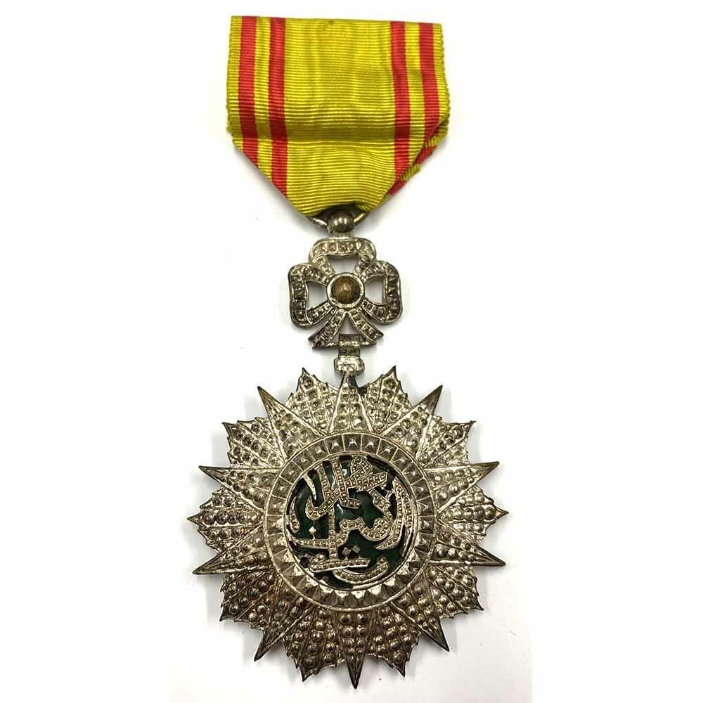 Order of Nichan Iftikhar Knight  Mohammed VIII 1