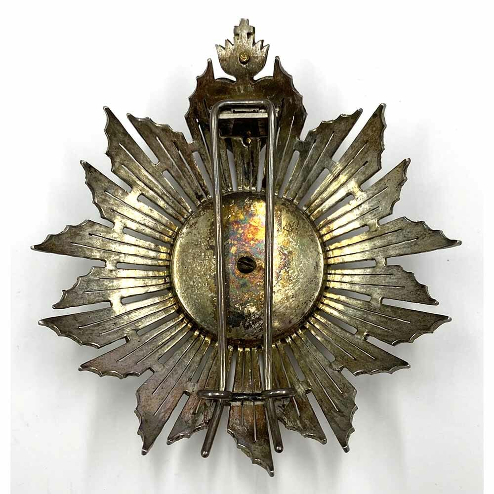 Order of Christ  Grand Cross breast star Kingdom with sacred heart 2