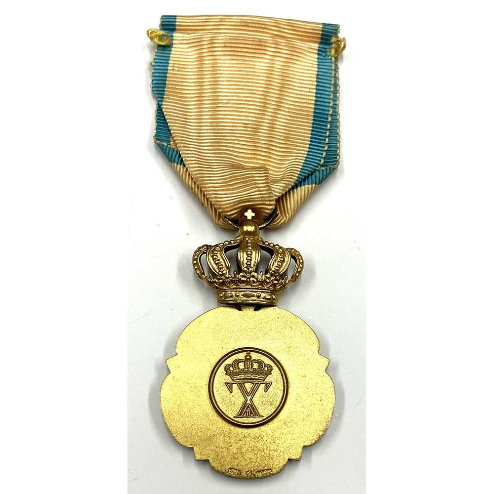 Order of Charity or Beneficence silver gilt 1