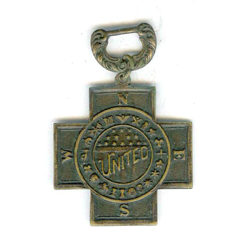 Spanish War Veterans 1889-1902 cross only 1