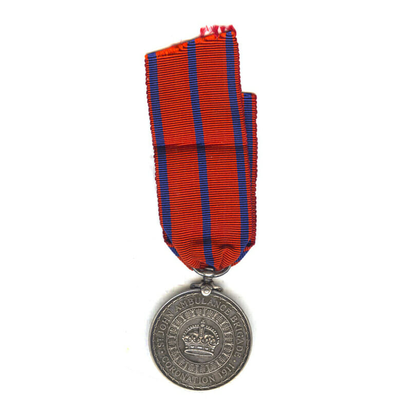 St John Ambulance Brigade Coronation 1911 2