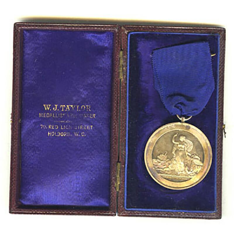 HMS Goliath Training Ship medal 1