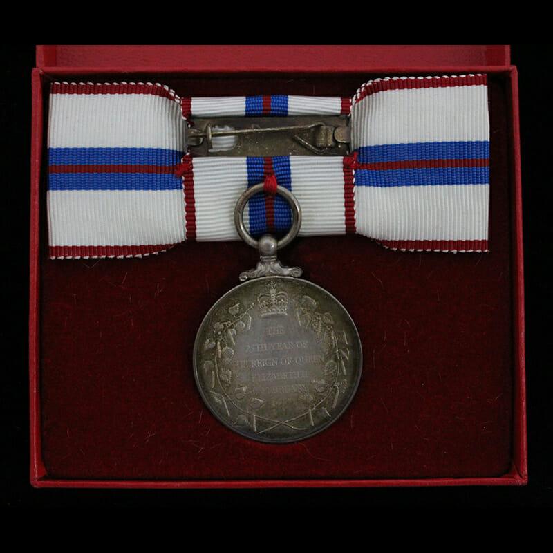 1977 Silver Jubilee Medal 2