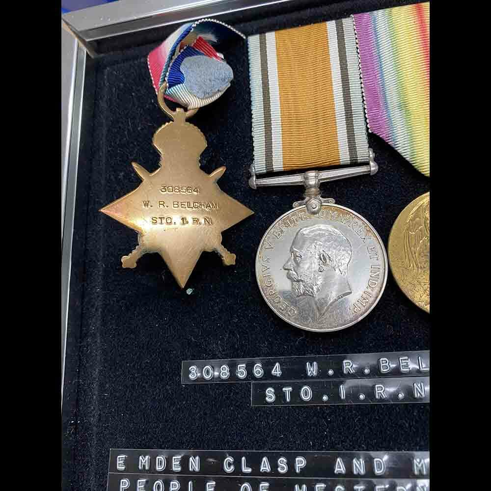 Sydney Emden Medal Group RAN Australia Original CREW 5
