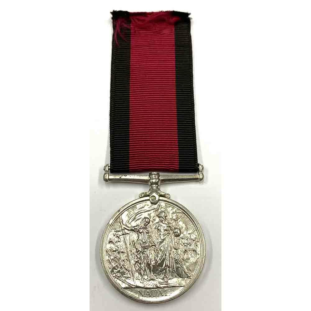 Natal Medal 1906 Klip River Reserve 2
