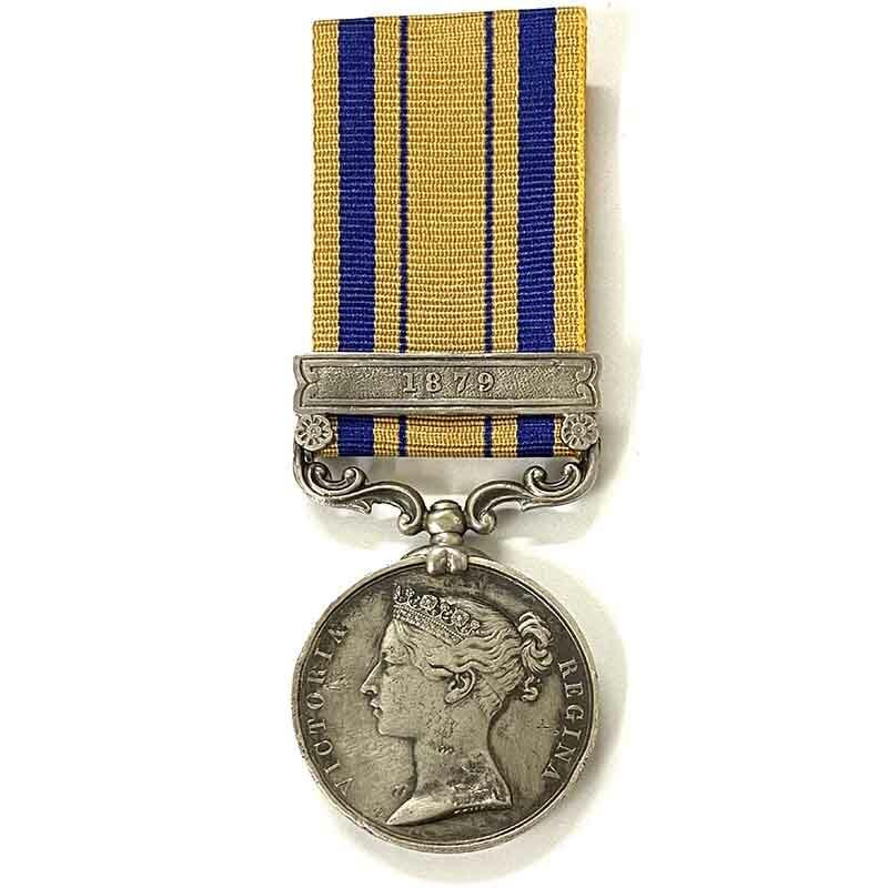 Zulu War Medal 1879 Herschel Native Contingent 1