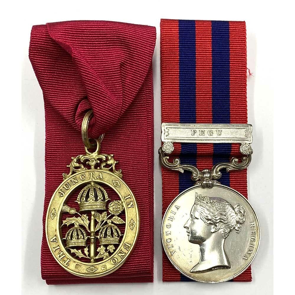 CB IGS Pegu HMS Hastings Officer 1