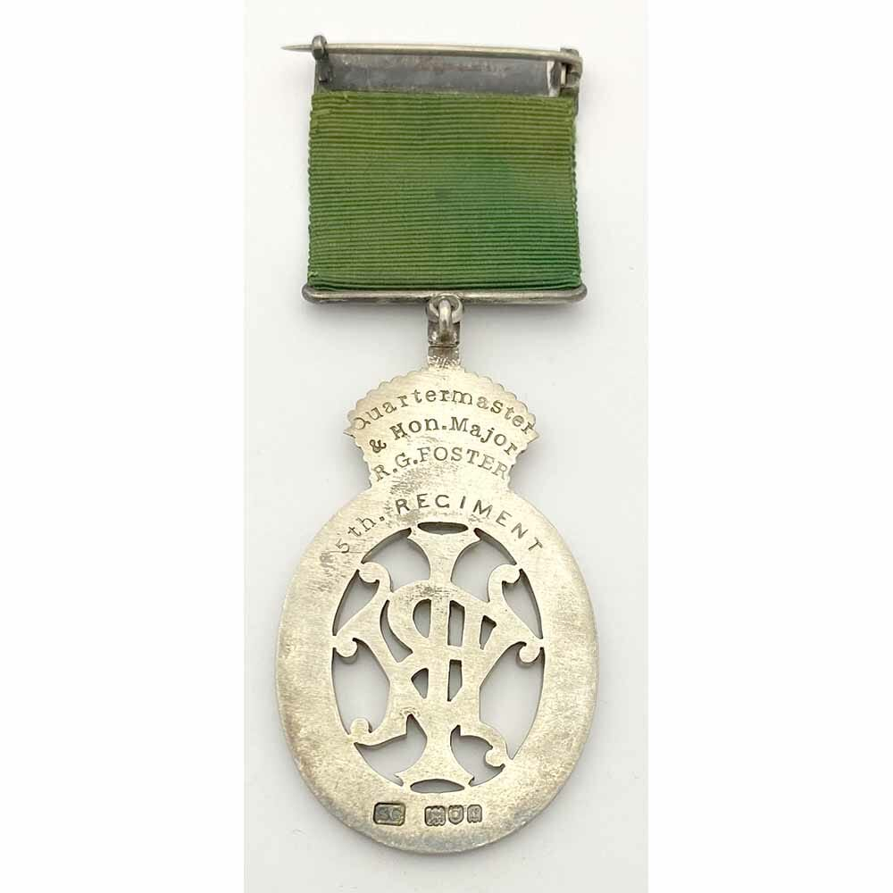 Colonial Auxiliary Forces Decoration VRI 2