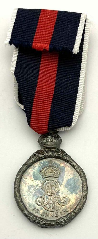 1902 Coronation Medal Silver 2