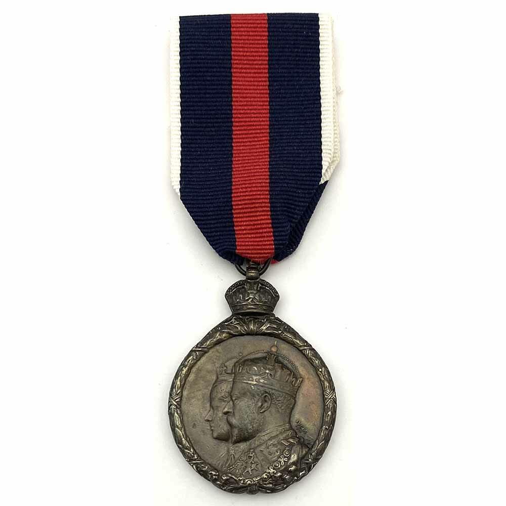 1902 Coronation Medal Bronze 1