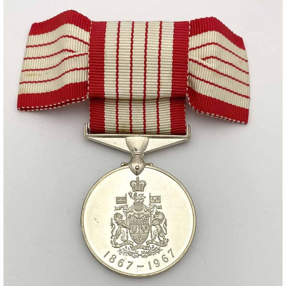 Canada Confederation Centennial Medal 1867-1967 1