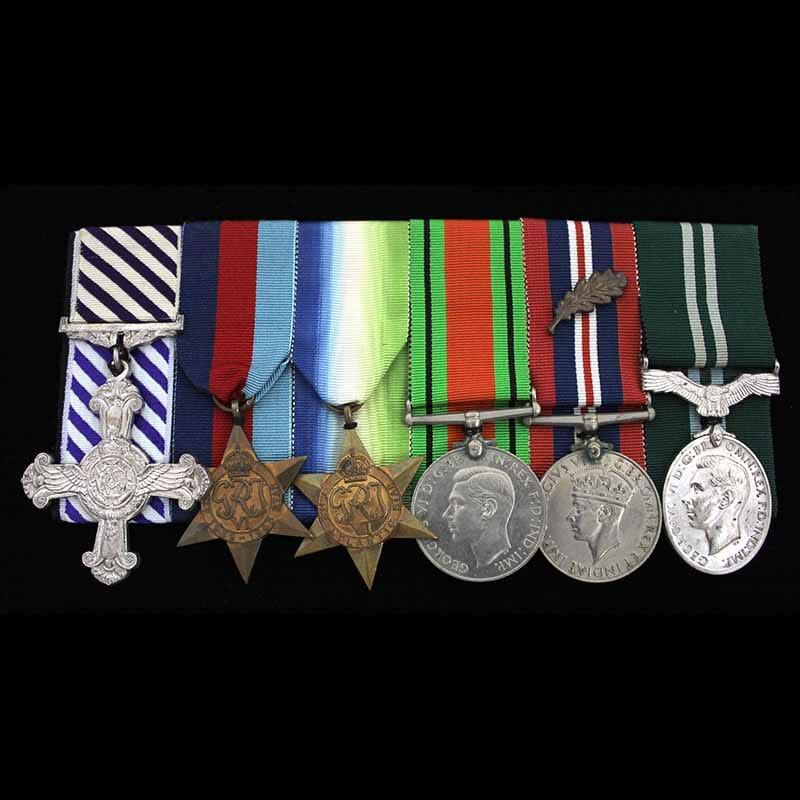 WW2 DFC Group RAF Intelligence 1