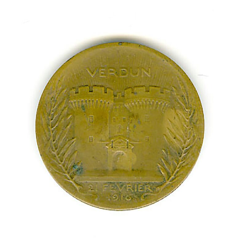 Verdun medal On Ne Passe Pas 2