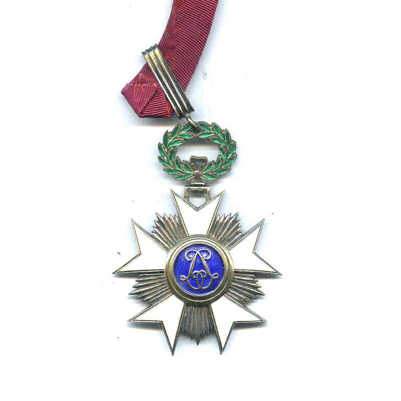 Order of the Crown  Commander with award document to E.L.Westerveld Director General... 2